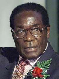 Robert Mugabe : President of Zimbabwe